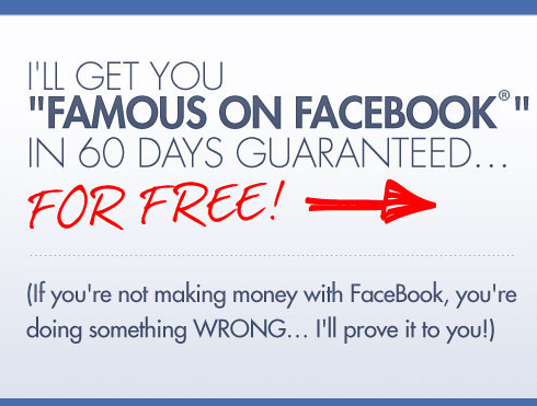 Generate Free Leads on Facebook and be Famous in 60 days