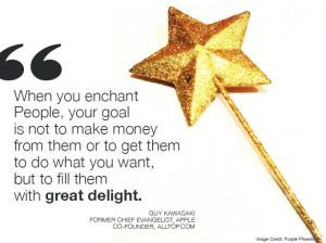 when you enchant