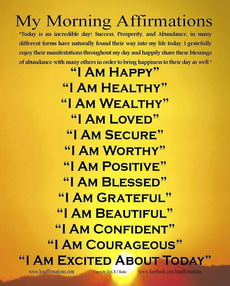 My Morning Affirmations Social Network Marketing With