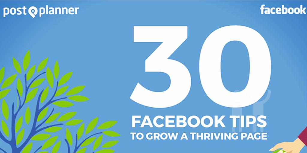 30 Facebook Tips