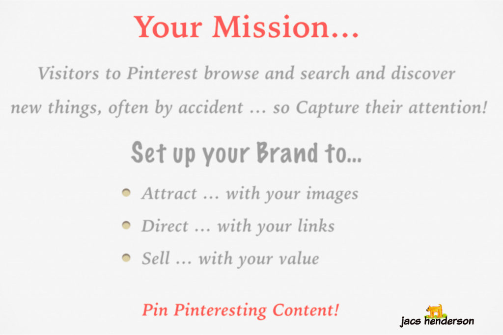 Pinterest Mission