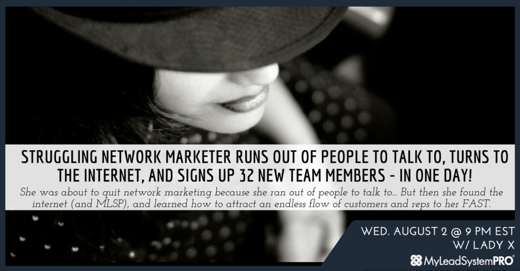 Marketing Webinar: 32 New Team Members... in ONE DAY