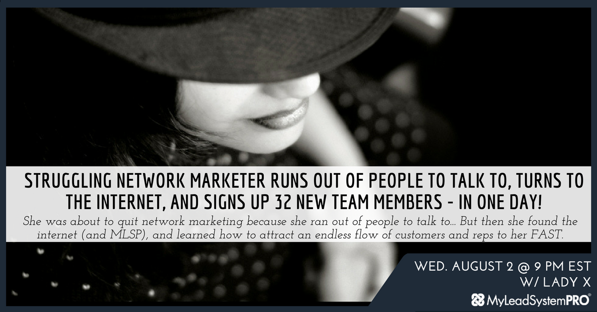 Marketing Webinar: 32 New Team Members... in ONE DAY